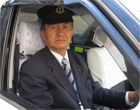 タクシードライバーの紹介